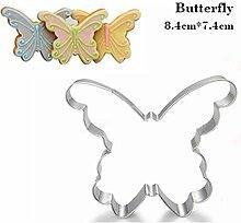 AMWFF Schmetterling Backutensilien Ei Werkzeugform