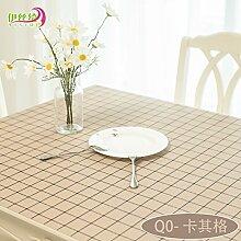 AMYDREAMSTORE Durchsichtige Tabelle tuch Cover protector Verdicken sie Tischdecken Wasserdicht Anti-heiß Transparent Tischsets Kristall Kunststoff Tischdecken Kautschuk-F 80x120cm(31x47inch)