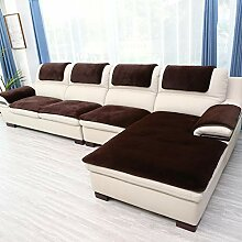 AMYDREAMSTORE Samt Sofa-Überwürfe Für L Shaped