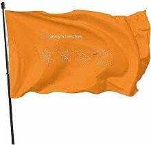AmyNovelty Yard Flags,Chinesisch Inspirierte