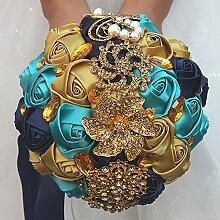 Amyseller Handgefertigter Hochzeitsstrauß