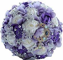 Amyseller Romantischer Strand Hochzeit Bouquet