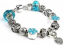 Amzdai Bracelet Damenarmband,Anti-Müdigkeit Glas