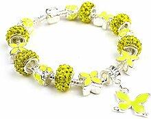 Amzdai Bracelet Damenarmband,Floral
