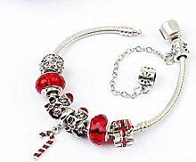 Amzdai Bracelet Damenarmband,Santa Claus