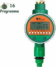 amzdeal Elektronische Wasser Timer 16 Programme
