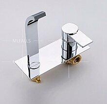 An Der Wand Montierte Kaltes Wasser Waschbecken Armatur Verchromt Single Handle Fauce