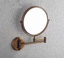 An der Wand montierten Spiegel antike kupfer Spiegel Spiegel,Metall,8.