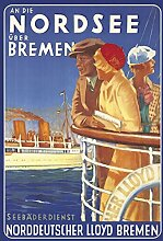 An die Nordsee über Bremen- Seebäderdinst-