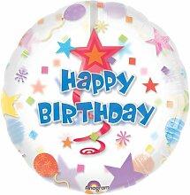 Anagram 11301 Folienballon zum 5. Geburtstag, bun