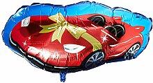 Anagram 3367001 Folienballon Rennwagen, 91,4 cm,
