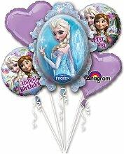 Anagram Folienballon Bouquet 2901101Frozen