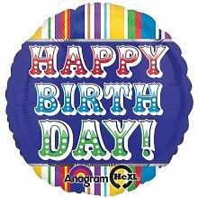 Anagram International HX Primary Happy Birthday