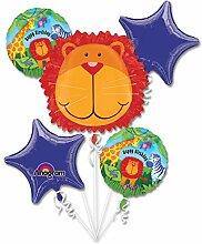 Anagram International Jungle Tiere Geburtstag
