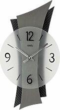 Analoge Wanduhr AMS Uhrenfabrik Farbe: Metall /