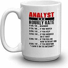 ANALYST Kaffee-Haferl - ANALYST STUNDENSATZ