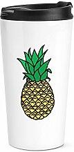 Ananas Reise Becher Tasse