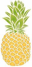 Ananas Schablone-wiederverwendbar Obst Gemüse