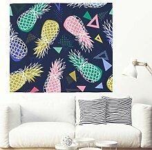Ananas Wandteppich Wandbehang Tropische Pflanze