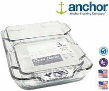 Anchor Hocking Glas-Backform für Ofen,