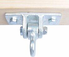 Anchor Point / Fixationsmittel den Gurt Suspendier- / Hängematte / swing / die Schaukel auf der Holzdeckenwand installieren