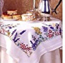 Anchor Tischtuch zum Besticken, Frühlingsblumen