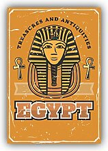 Ancient Egyptian Pharaoh - Self-Adhesive Sticker