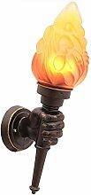 Anclk Antik Wandlampe Kinderzimmer Kreative Fackel