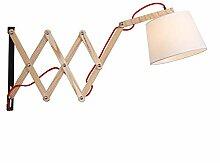 Anclk Innen Wandlampe Holz Mit Schalter