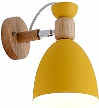 Anclk Innen Wandlampe Holz Nachttischlampe