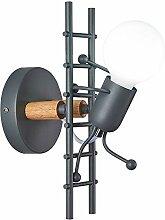 Anclk Kinderzimmerlampe Holz Wandlampe Moderne