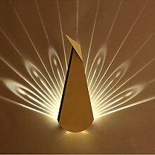 Anclk Wandlampe Innen Nachttischlampe LED Metall
