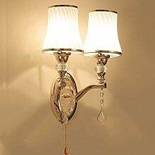 Anclk Wandlampe Mit Zugschalter Glas Lampenschirm