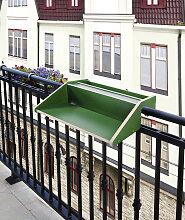 andas Balkonhängetisch Rayling Tischplatte: