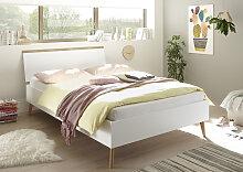 andas Einzelbett MERLE 140x200 cm weiß