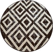 andas Teppich Pocova, rund, 7 mm Höhe, In- und