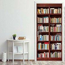 ANDD Bücherregal 3D Wohnzimmer Fototapete