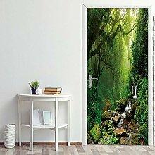 ANDD Dschungelnebel 3D Wohnzimmer Fototapete