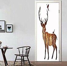 ANDD Elch 3D Wohnzimmer Fototapete Wandbilder