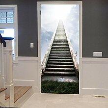 ANDD Leiter 3D Wohnzimmer Fototapete Wandbilder