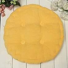 Anddod Soft Round Thickened Fiber Seat Cushion