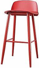 ANDE Bar Hocker Bar Stuhl, Restaurant Hocker Kaffeehaus Haushalt Vorderseite Stuhl Stuhl Kaffee Stuhl Esszimmer Stuhl Hoch Hocker Esszimmer Hocker Hochstuhl 60-75cm Originalität ( Farbe : #7 , größe : 75cm )