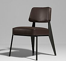 ANDE Bar Stühle, Retro Eisen Bar Hocker Hohe Bar Hocker Geometrie Bar Stuhl KTV Bar Thema Stuhl Restaurant Retro Stühle Älter Freizeit Stuhl Originalität ( Farbe : E )