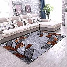 ANDEa Dicker Teppich Muster Helle Teppich Wohnzimmer Couchtisch Teppich Nachtnacht Beleg Teppich Originalität ( Farbe : A , größe : 140*200CM )
