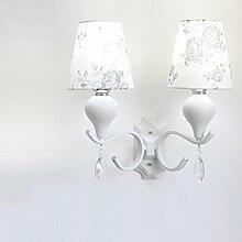 ANDEa Led Wandleuchte Wohnzimmer Schlafzimmer Nachttisch Lampe Warm Lampen Originalität ( stil : B )