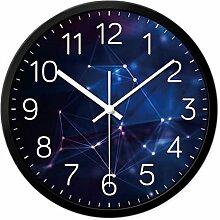 Andea Persönlichkeit Uhren Mode Uhren Wohnzimmer Creative Mute Schlafzimmer Restaurant Moderne Bell Tisch Hanging einfach S schwarz