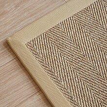 ANDEa Pflanze Weave Türmatten Einfache Teppich Kreative Mode Teppich Study Schlafzimmer Wohnzimmer Kaffee Mats Sofa Bedside Matten Studie Computer Stuhl Kissen Originalität ( Farbe : D , größe : 100*150CM )