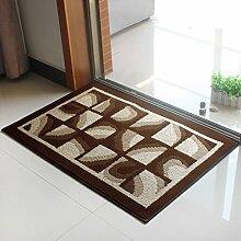 ANDEa Rutschhemmende Tür electro Teppich Matratze Tür Eingangshalle Mat Mat Originalität ( Farbe : A , größe : 60*90CM )