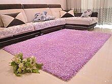 ANDEa Teppich Hoch - Grad Encrypted Wohnzimmer Couchtisch Nacht Teppich Fußmatten Originalität ( Farbe : A , größe : 120*170CM )