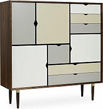 Andersen Furniture - S3 Kommode, Walnuss geölt/